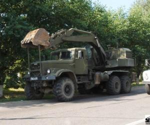 Автомобиль спецназначения ЭОВ - 4421 КРАЗ-255Б