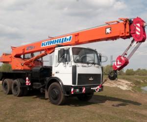 кран КС-55713-6К на шасси МАЗ 25 т