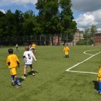 Угол нашей штрафной.Детская футбольная команда «ОЛАКС».