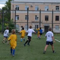 Куча мала.Детская футбольная команда «ОЛАКС».