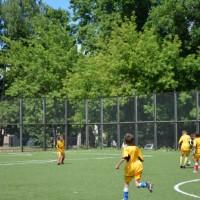 Зеленый простор.Детская футбольная команда «ОЛАКС».