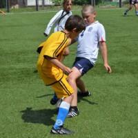 Детская футбольная команда «ОЛАКС»....а где же мяч?