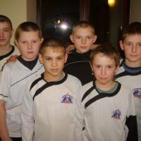 Футбольная пятерка и вратарь. Детская футбольная команда «ОЛАКС».