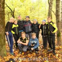 Биатлон. Команда детской спортивной школы «Олакс».
