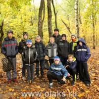 Биатлон. Команда детской спортивной школы «Олакс». Осенний старт.
