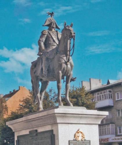 Памятник Барклаю де Толли, г. Черняховск, Калининградская область.