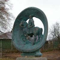Памятник полководцу М.В.Скопину-Шуйскому, п. Борисоглебский (Ярославская область)