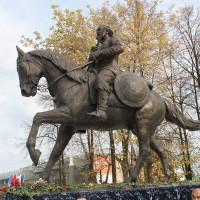 Конный памятник «воевода Федор Боборыкин», г.Кинешма