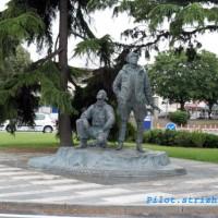 Памятник эскадрилье «Нормандия-Неман», г. Ле-Бурже (Франция)