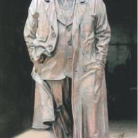 Памятник А.Т.Твардовскому, г.Москва