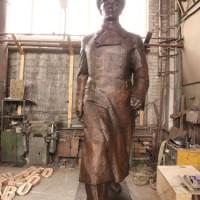 Ю. А. Гагарина (ростовая фигура). Автор - Равиль Юсупов.