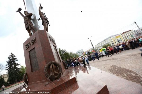 Памятник на площади Победы (г.Смоленск)