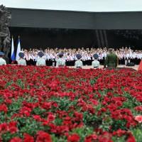 Мемориал под Симферополем (Крым)