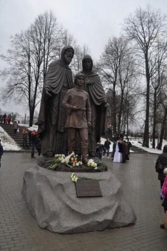 Преподобные Кирилл, Мария и отрок Варфоломей (Хотьково, Московская обл.)
